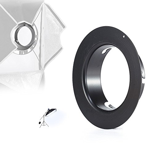 Selens Photographic Softbox Soft Box Speed Ring Speedring Adapter for (Hensel Speed Ring)