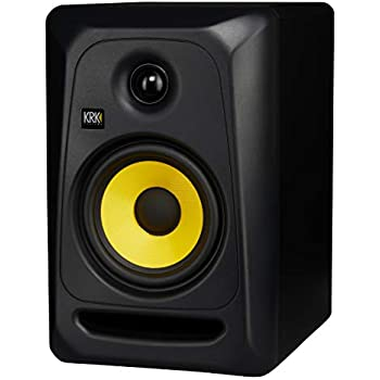 Single Speaker KRK RP6G2 Rokit G2 6-inch Powered Studio Monitor