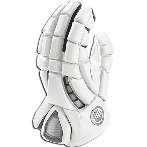 Maverik Lacrosse Men's Rome RX3 Glove, White, Medium