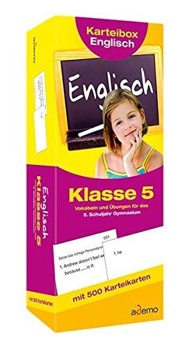 Karteibox Englisch, Klasse 5 ebook