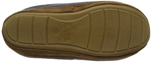 Ralph Lauren Mens Grey Jacques Slippers