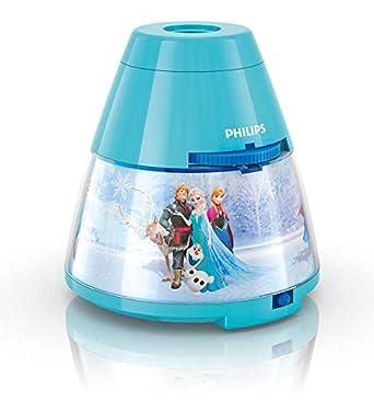 Philips 71769/08/16 Proyector y luz nocturna 2 en 1, 0.06 W, Azul