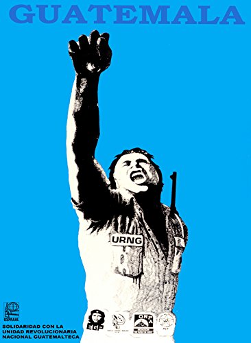 Political Decoration Poster.Activist Graphics.Solidarity with Guatemala.9204