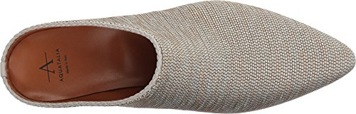 Sand Woven gunmetal metallic Mule Fife Aquatalia Fabric Women's qAw17AnI