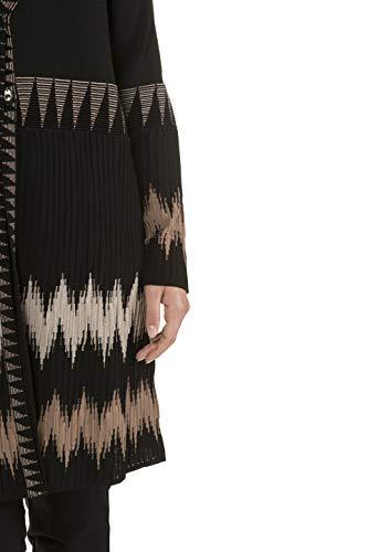 Veste Noir 720352 Femme En Grandes Maille Tailles Ulla Popken x56qwIAC08
