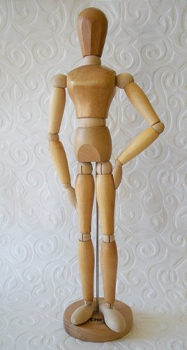 Jack Richeson Signature Manikin- 16 Inch Wooden Female by Richeson