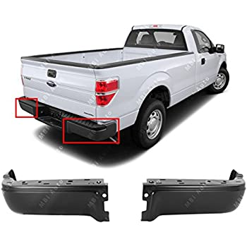 Amazon.com: OE Replacement Ford F150 Front Bumper Pad Set (Partslink ...