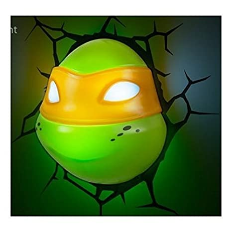 Amazon.com: 3d deco Light ~ ~ Teenage Mutant Ninja Turtles ...