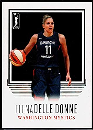 5094a5e2fcbd1 Amazon.com: Basketball NBA 2018 Rittenhouse WNBA #101 Elena Delle ...