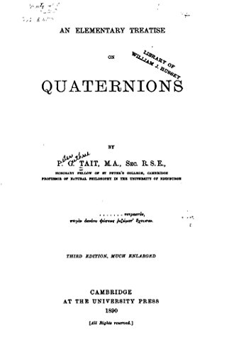 An Elementary Treatise On Quaternions - image 3