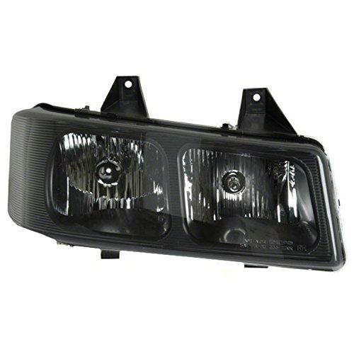 GetAllParts New Passenger Side Right Composite Type Head Lamp 15879432; 25758558-V