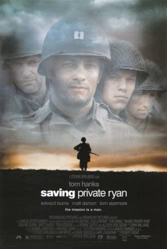 Saving Private Ryan Movie Poster Canvas Paintings Wall Art Picture 24X36inch