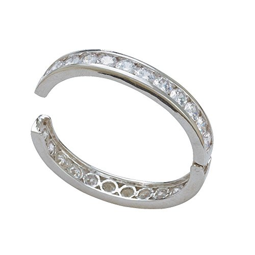 Montana Silversmith Crystal Shine Silver Bangle Bracelet - BC1261 - Montana Silversmiths Crystal
