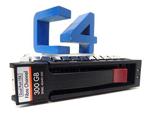 HP 454411-001 300GB FC 15K HARD DRIVE - AG690A, AG690B, 447186-002 (Renewed) 15k Fc Hard Drive