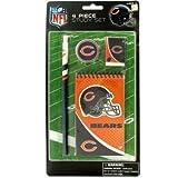 NFL Licensed Chicago Bears Study Set - Eraser, Pencil, Sharpener and Spiral Note Pad