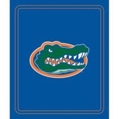 Logo Brands NCAA Florida Gators Classic Fleece Blanket