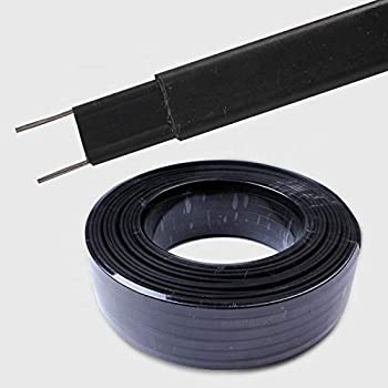 China pipe heating self regulating heat trace cable tape Industrial grade for Pipe Freeze Protection heating cable (Low temperature type (65 °c), 9Feet(3m))