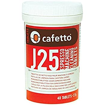 40 Jura Cleaning Tablets for Super Automatic Espresso Machines - by Cafetto - Model J25 for