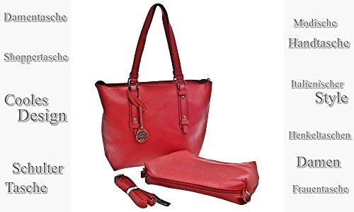 Dudlin, Borsa a spalla donna rosso rosso