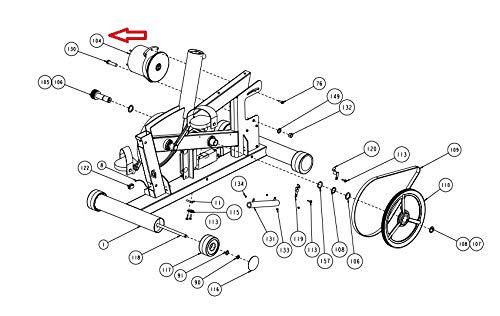 Amazon Com Precor Generator Alternator With Flywheel 40747 801 Or