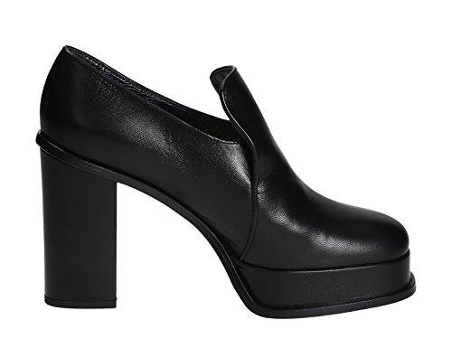 Céline Femme Chaussures Talons À Cuir Noir 317413KPMC38NO rrnHqdF