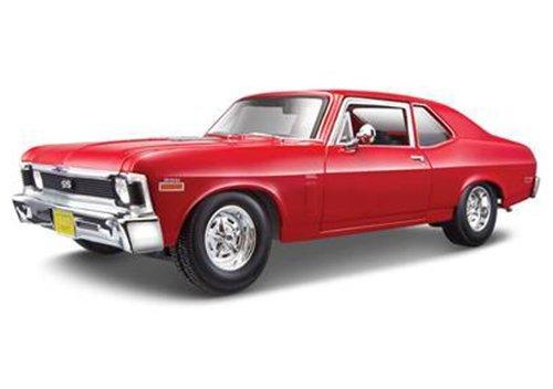 Chevrolet 1970 Nova SS Coupe Red 1/18 by Maisto -