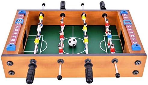 WIN.MAX Juego de Mesa de fútbol Futbolin Foosball Juego de Tablero ...
