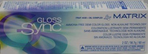 Matrix Gloss Sync Non Alkaline Acid Demi Color 3N Darkest...