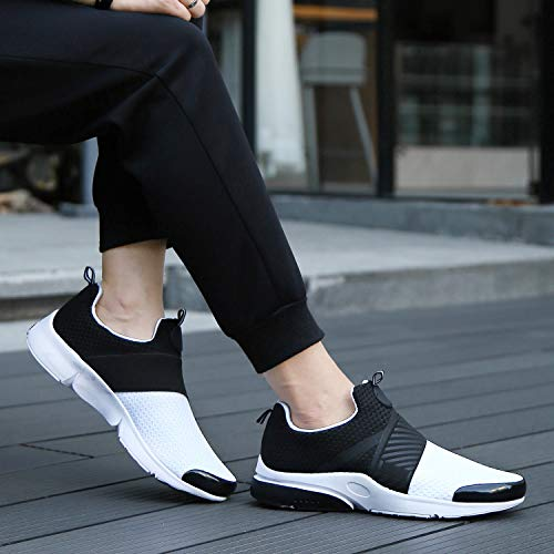 Freizeit Damen Putu Weiß Sneaker Leicht Rutschfeste Atmungsaktiv Sportschuhe Running Turnschuhe Unisex Mesh Laufschuhe Herren wHHqTYf
