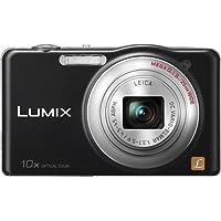 Panasonic Lumix DMC-SZ02K 16.1 Megapixels Digital Camera - 10x Optical/4x Digital Zoom - 3.0-inch LCD - Black (Certified Refurbished)