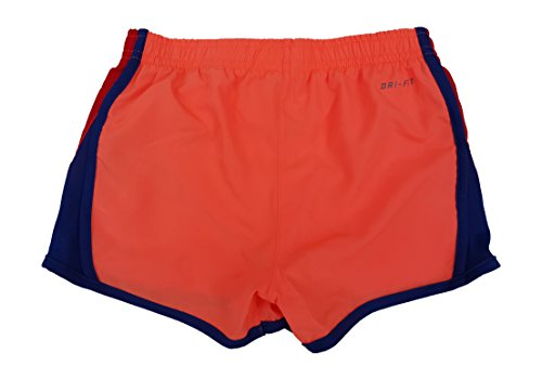 Nike Girls Dry Tempo Running Shorts Bright Mango
