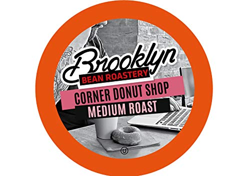 Brooklyn Beans Corner Donut Shop Coffee Pods, Compatible with 2.0 K-Cup Brewers, 40 Count (Best Donuts In Brooklyn)