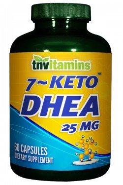 TNVitamins 7-Keto DHEA 25 Mg - 60 Capsules