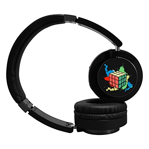 MagicQ New Colorful Rubik Cube Bluetooth Headphones,Hi-Fi Stereo Earphones Headset. (Mt3 Control)