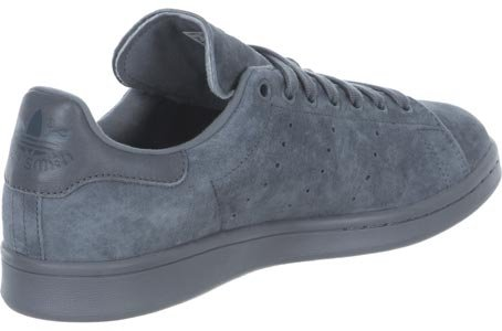 Adidas Originals STAN SMITH VINTAGE Chaussures Mode Sneakers Unisex Cuir Suede Gris