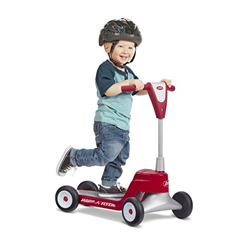 41L2RXSdJeL - Radio Flyer Scoot 2 Scooter Ride On