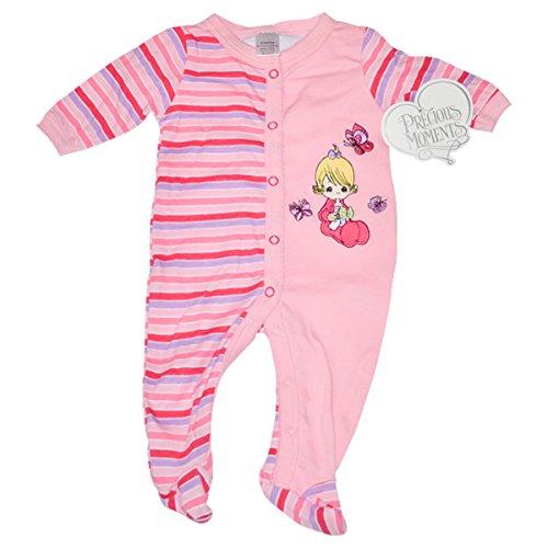 y Girls Bodysuit - Girl With Beautiful Flying Butterflies (Preemies) (Precious Baby Girl)