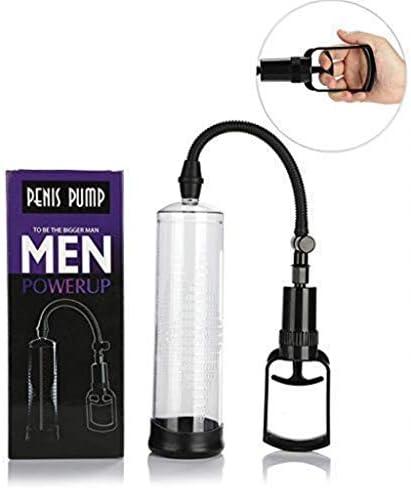 SDSDFSB Wirksame männliche PênīsPump Luftvakuumpumpe Pênīsgrowth, manuelle Pênīsextender-Längenvorrichtung für Männer Massagegerät