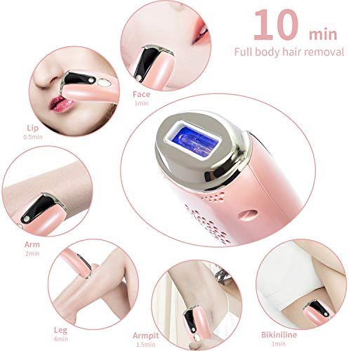 IPL Hair Removal Permanent Full Body Hair Remover Painless Safe Machine Set Instant Laser Removal For Women Men In Armpit