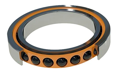 Light Preload Contact Angle 15/° 35 mm Width 15 mm ID Barden Bearings C202HCRRUL Single Ball Bearing Ceramic Double Seal Angular Contact 35 mm OD Spindle