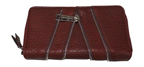 Jessica Simpson Zip Around Wallet Clutch Checkbook