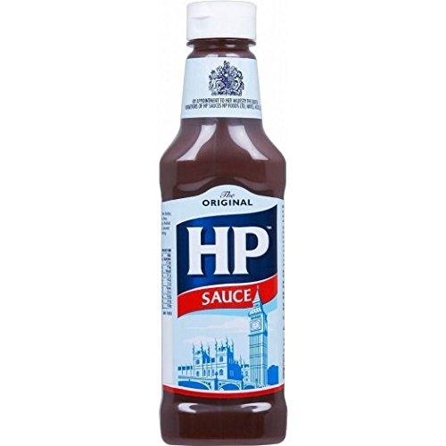 Hp Sauce Sqeezy 425g (Pack of 6) (Hp Bbq Sauce)