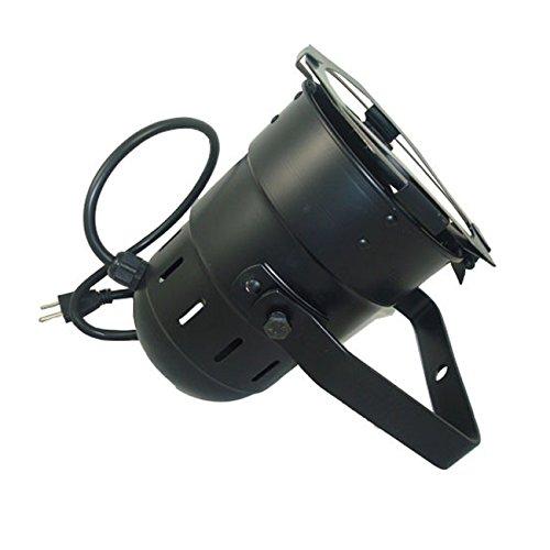 BulbAmerica PAR 38 Lighting CAN Black w/Socket Power Cord & PAR38 Gel Frame Bul-1173