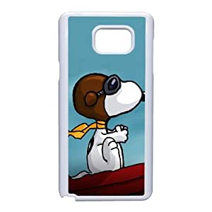 Samsung Galaxy Note 5 case , Charlie Brown and Snoopy Samsung Galaxy Note 5 Cell phone case White-YYTFG-19775