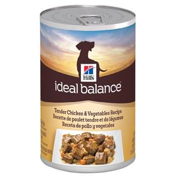 Hill's Ideal Balance Tender Chicken and Vegetables Canned Adult Dog Food, Case of 12, My Pet Supplies