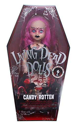 Living Dead Dolls Series 35 20th Anniversary Series Candy RottenSLIGHTLY -