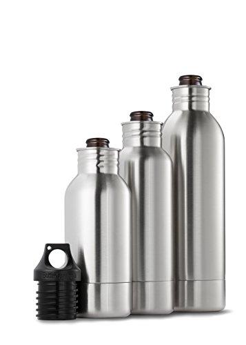 Bottlekeeper The Original Stainless Steel Beer Bottle