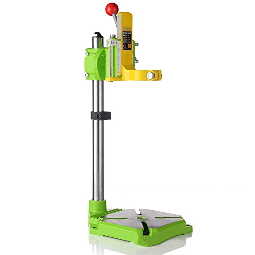 Konmison Floor Drill Press Stand Table for Drill Workbench Repair Tool Clamp for Drilling Collet Drill Press Table Table Top Drill Press 35&43mm 0-90 degrees