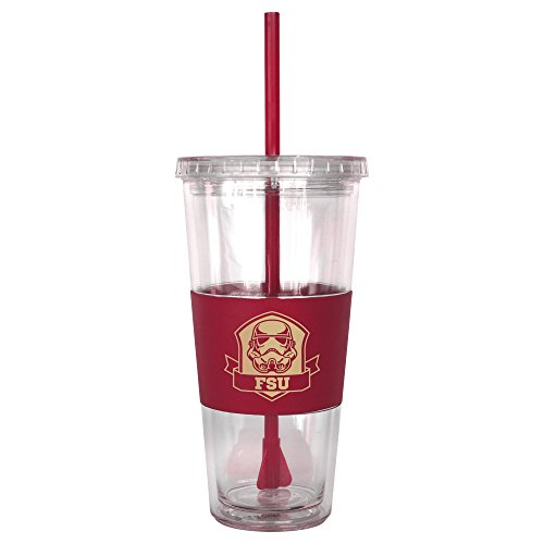 Florida State Seminoles Insulated Bottle (NCAA Florida State Seminoles Star Wars Straw Tumbler, 22-ounce)