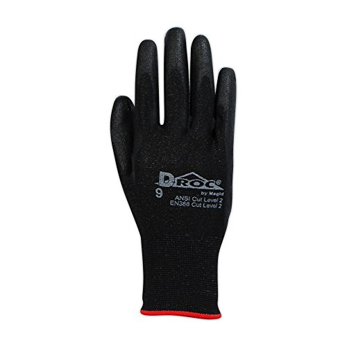 Magid Safety D-ROC Polyurethane Palm Coated Work Gloves by Magid Glove & Safety (Image #1)